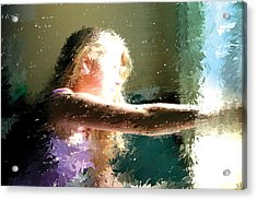 A New Day Acrylic Print by Judith Bicking