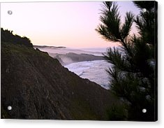 A New Day Ragged Point Acrylic Print