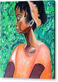 Acrylic Print featuring the painting A New Queen Of Sheba by Esther Newman-Cohen
