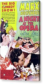 A Night At The Opera 1935 Acrylic Print by M G M
