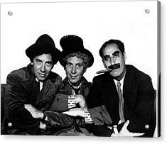 A Night At The Opera, Chico Marx, Harpo Acrylic Print
