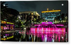 A Night In Los Angeles Acrylic Print by April Reppucci