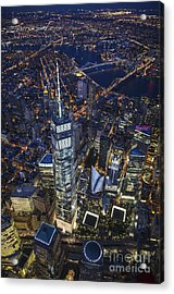 A Night In New York City Acrylic Print