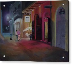 A Night On The Town Acrylic Print by Marcus Moller