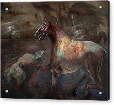 A Nightmare Acrylic Print by Henriette Tuer lund