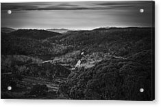 A Nomadic Way Acrylic Print by Mark Lucey
