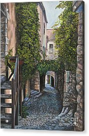 A Passage In Time Acrylic Print by Charlotte Blanchard