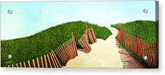 A Path Of Light Smaller View For Prints From Oil Painting Acrylic Print