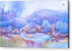 A Peaceful Place Acrylic Print by Glory Wood