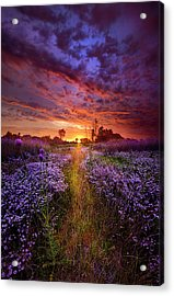 A Peaceful Proposition Acrylic Print by Phil Koch