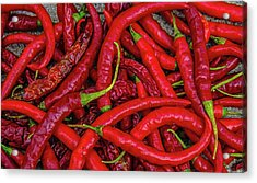 A Peck Of Unpickled Peppers Acrylic Print