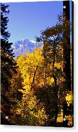 Acrylic Print featuring the photograph A Peek At Tallac by Lynn Bawden
