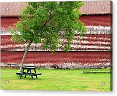 Acrylic Print featuring the photograph A Picnic For You And Me by Corinne Rhode