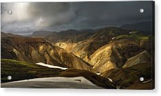 A Piece Of Laugavegur Acrylic Print