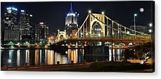 A Pittsburgh Panorama Acrylic Print by Frozen in Time Fine Art Photography
