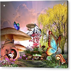 A Pixie Garden Acrylic Print