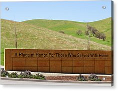 A Place Of Honor Acrylic Print by Art Block Collections