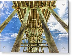 Acrylic Print featuring the photograph A Place To Chill by Paula Porterfield-Izzo