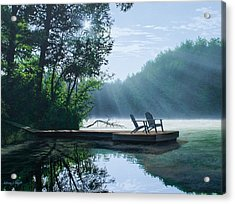 A Place To Ponder Acrylic Print