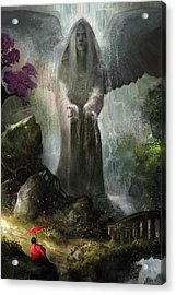 A Place To Ponder Acrylic Print by Steve Goad
