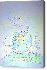 A Planet Remembered Acrylic Print