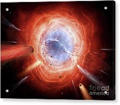 A Planetary Nebula Is Forming Acrylic Print by Brian Christensen