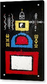 A Plea For Religious Tolerance Acrylic Print by Sela Adjei