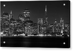 Acrylic Print featuring the photograph A Pyramid In The City by Peter Thoeny