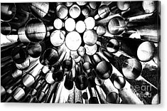 A Question Of Perspective 2 Sibelius Monument Acrylic Print
