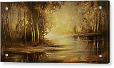 A Quiet Moment Acrylic Print by Michael Lang