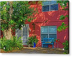Acrylic Print featuring the photograph A Quiet Respite by HH Photography of Florida