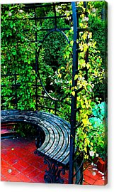 A Quiet Spot To Rest Acrylic Print