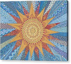 A Quilt Of Sunshine Acrylic Print