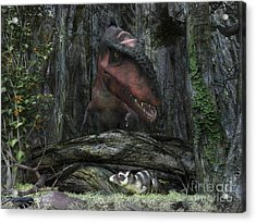 A Rat-sized Purgatorius Hides Acrylic Print by Walter Myers
