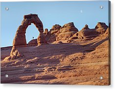 A Red Rock Wonderland. Acrylic Print