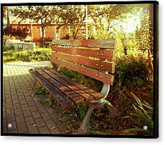 Acrylic Print featuring the photograph A Restful Respite by Shawn Dall