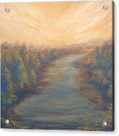 A River's Edge Acrylic Print