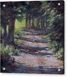 A Road Less Travelled Acrylic Print by Mia DeLode