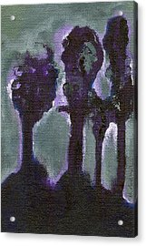 A Roar In The Forest 1 Acrylic Print by Ricky Sencion