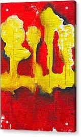 A Roar In The Forest 3 Acrylic Print by Ricky Sencion