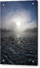 A Rushing River Acrylic Print