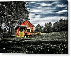 A Ruskin Shed Acrylic Print