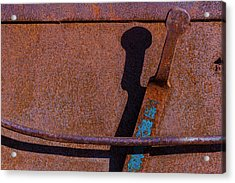 Acrylic Print featuring the photograph A Rusted Development II by Paul Wear