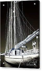 A Sailboat In Marseille Acrylic Print by John Rizzuto