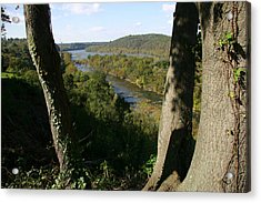 A Scenic View Of The Potomac River Acrylic Print by Stephen St. John