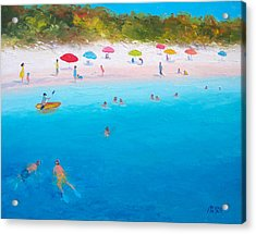 A Scorching Summer Acrylic Print