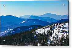 A Sea Of Mountains, South Moat Mountain Summit Acrylic Print