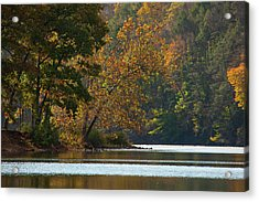 A Seasons View Acrylic Print by Karol Livote