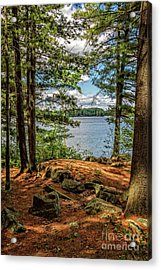 A Secluded Spot Acrylic Print
