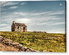 A Shack On The Aran Islands Acrylic Print